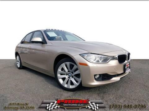 2014 BMW 3 Series for sale at PRIME MOTORS LLC in Arlington VA