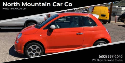 2015 FIAT 500e for sale at North Mountain Car Co in Phoenix AZ