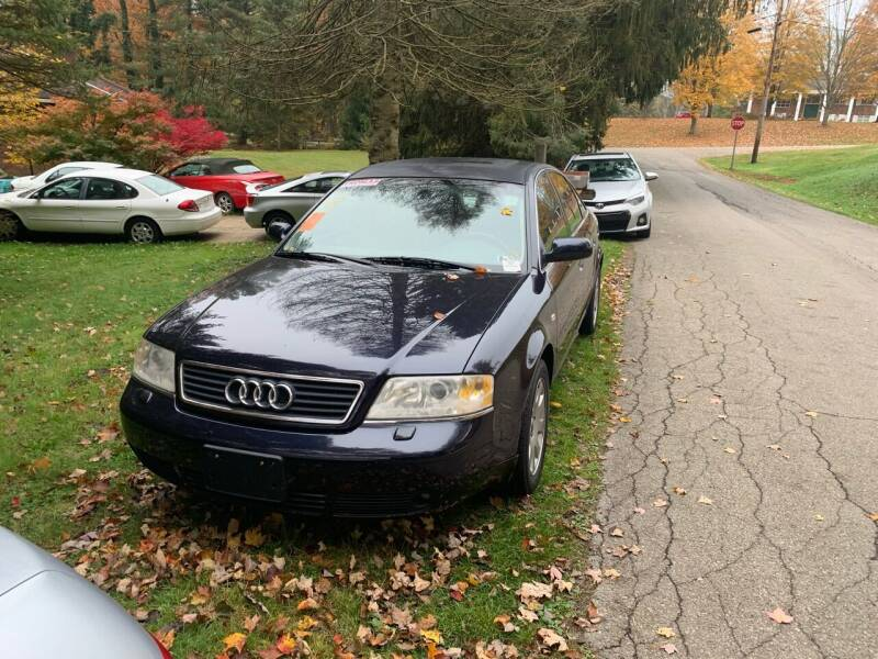 2001 Audi A6 for sale at Stan's Auto Sales Inc in New Castle PA