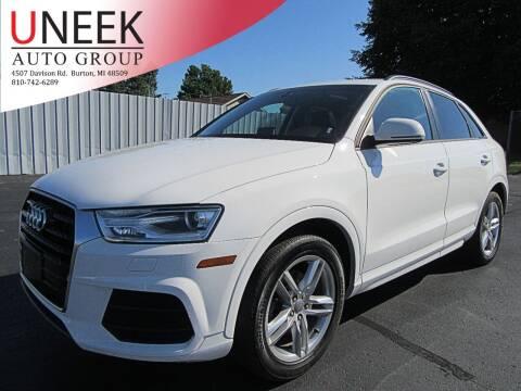 2017 Audi Q3 for sale at Uneek Auto Group LLC in Burton MI