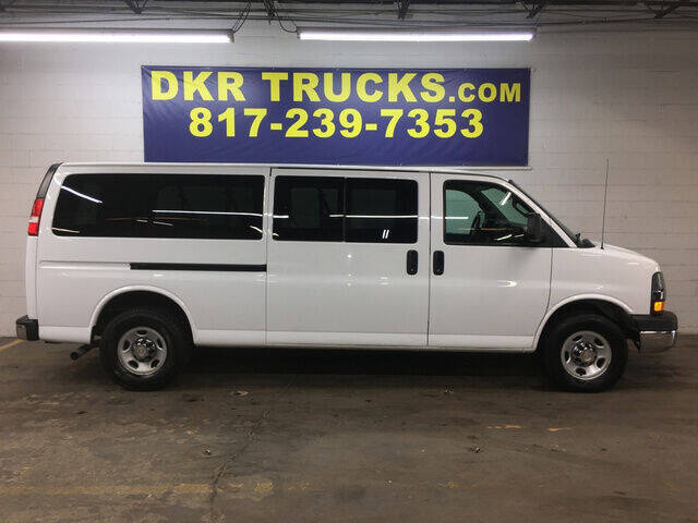 2016 Chevrolet Express Passenger for sale at DKR Trucks in Arlington TX