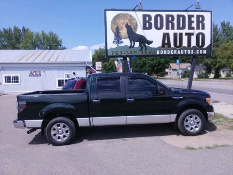 2012 Ford F-150 for sale at Border Auto of Princeton in Princeton MN