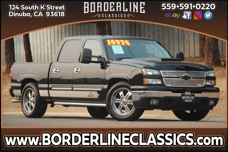 2006 Chevrolet Silverado 1500 for sale at Borderline Classics in Dinuba CA