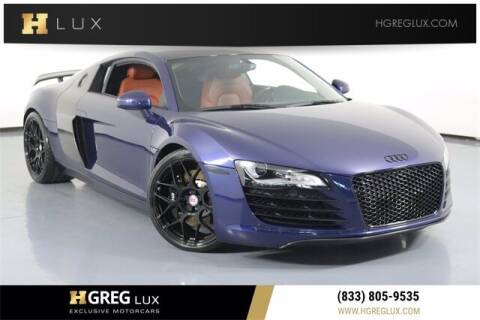 2008 Audi R8 for sale at HGREG LUX EXCLUSIVE MOTORCARS in Pompano Beach FL