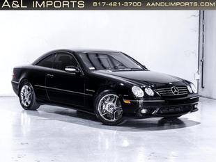 2003 Mercedes-Benz CL-Class for sale at A & L IMPORTS INC in Colleyville TX