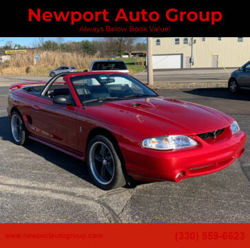 1998 Ford Mustang SVT Cobra for sale at Newport Auto Group Boardman in Boardman OH