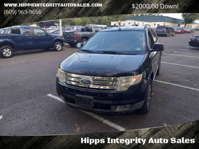2008 Ford Edge for sale at Hipps Integrity Auto Sales in Delran NJ