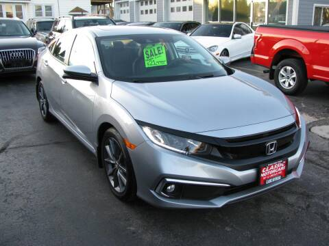 2019 Honda Civic for sale at CLASSIC MOTOR CARS in West Allis WI