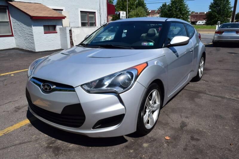 2012 Hyundai Veloster for sale at L&J AUTO SALES in Birdsboro PA