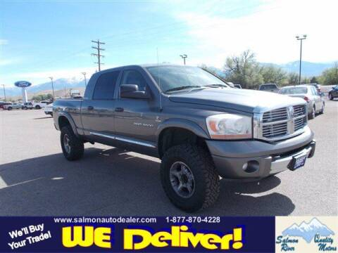 2006 Dodge Ram Pickup 3500 for sale at QUALITY MOTORS in Salmon ID