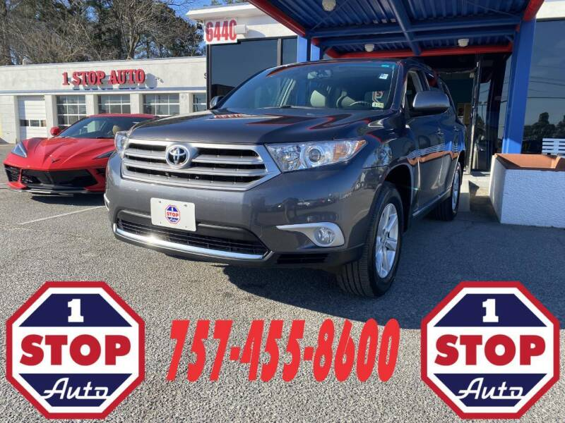 2012 Toyota Highlander for sale at 1 Stop Auto in Norfolk VA