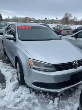 2011 Volkswagen Jetta for sale at BELOW BOOK AUTO SALES in Idaho Falls ID