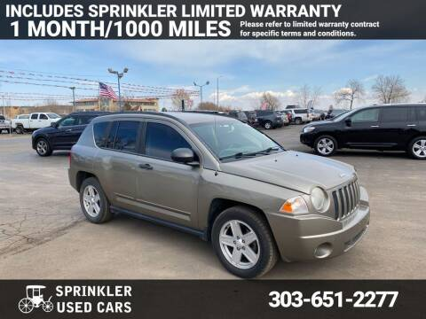 2008 Jeep Compass for sale at Sprinkler Used Cars in Longmont CO