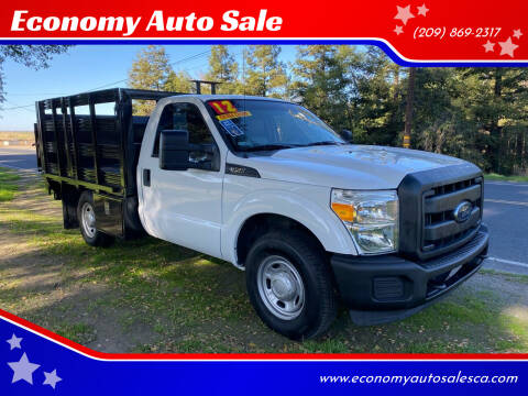 2012 Ford F-350 Super Duty for sale at Economy Auto Sale in Modesto CA