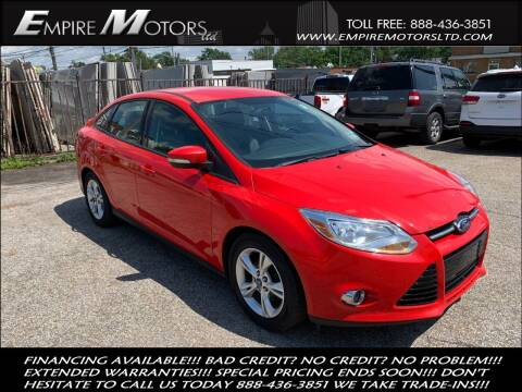 2012 Ford Focus for sale at Empire Motors LTD in Cleveland OH