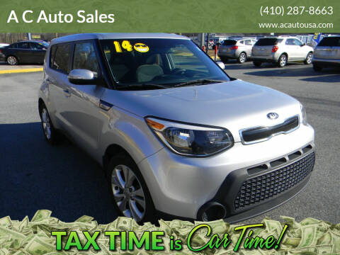 2014 Kia Soul for sale at A C Auto Sales in Elkton MD