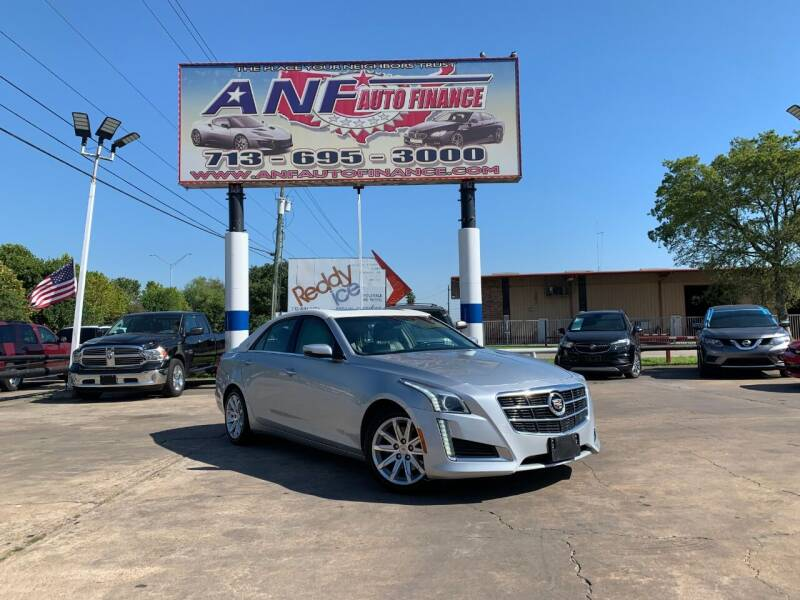2014 Cadillac CTS AWD 2.0T Luxury Collection 4dr Sedan - Houston TX