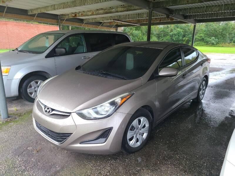 2016 Hyundai Elantra for sale at Mott's Inc Auto in Live Oak FL