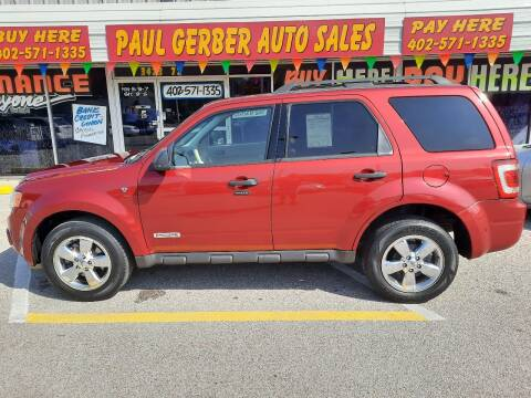 2008 Ford Escape for sale at Paul Gerber Auto Sales in Omaha NE
