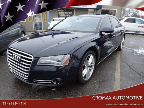 2011 Audi A8 L for sale at Cromax Automotive in Ann Arbor MI
