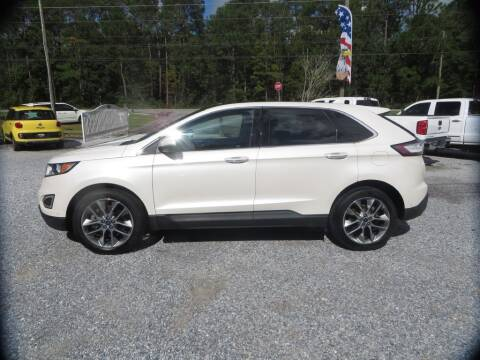 2017 Ford Edge for sale at Ward's Motorsports in Pensacola FL