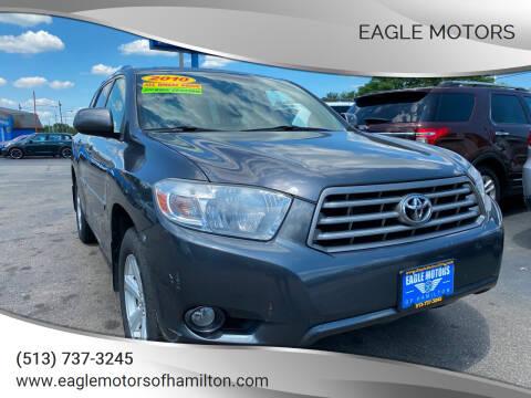 2010 Toyota Highlander for sale at Eagle Motors in Hamilton OH