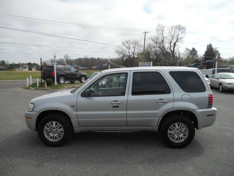 2006 Mercury Mariner for sale at All Cars and Trucks in Buena NJ