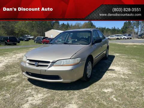 2000 Honda Accord for sale at Dan's Discount Auto in Gaston SC