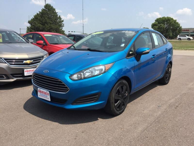 2014 Ford Fiesta for sale at De Anda Auto Sales in South Sioux City NE