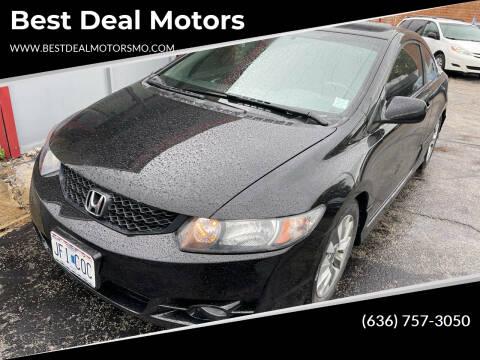 2010 Honda Civic for sale at Best Deal Motors in Saint Charles MO