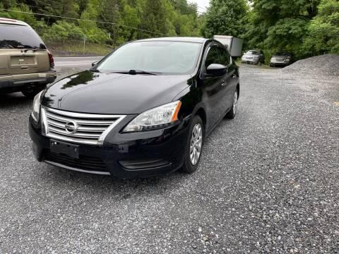 2014 Nissan Sentra for sale at JM Auto Sales in Shenandoah PA