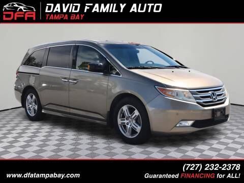 2012 Honda Odyssey for sale at David Family Auto, Inc. in New Port Richey FL