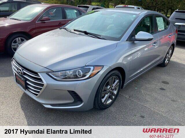 2017 Hyundai Elantra for sale at Warren Auto Sales in Oxford NY