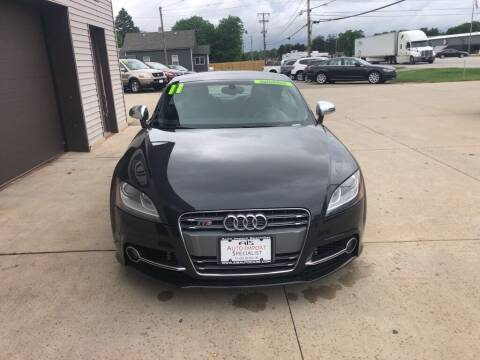 2011 Audi TTS for sale at Auto Import Specialist LLC in South Bend IN