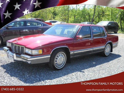 1991 Cadillac DeVille for sale at THOMPSON FAMILY MOTORS in Senecaville OH