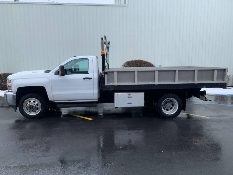 2018 Chevrolet Silverado 3500HD CC for sale at DAVENPORT MOTOR COMPANY in Davenport WA