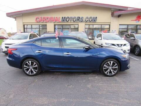 2016 Nissan Maxima for sale at Cardinal Motors in Fairfield OH