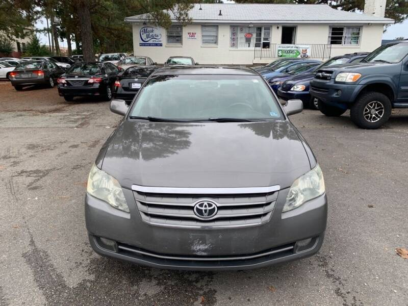 2006 Toyota Avalon for sale at MEEK MOTORS in North Chesterfield VA