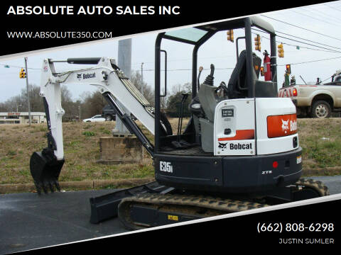 2016 Bobcat E35i for sale at ABSOLUTE AUTO SALES INC in Corinth MS