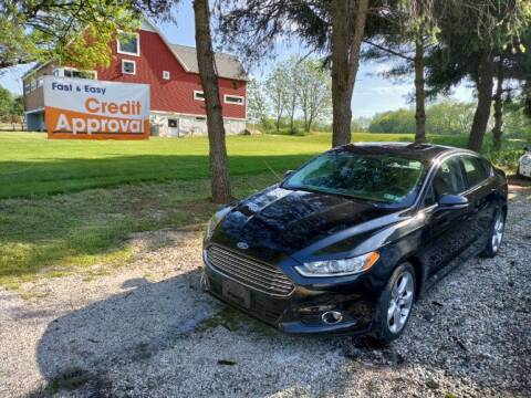 2015 Ford Fusion for sale at Caulfields Family Auto Sales in Bath PA