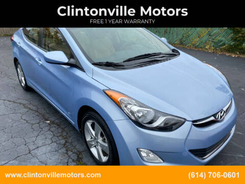 2013 Hyundai Elantra for sale at Clintonville Motors in Columbus OH