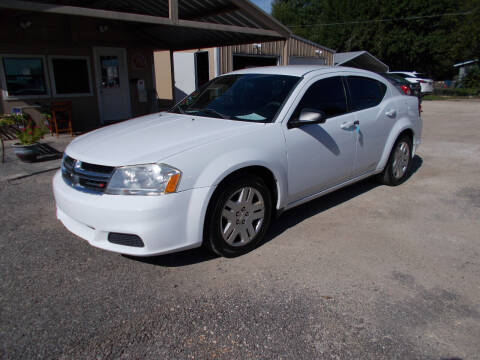 2014 Dodge Avenger for sale at DISCOUNT AUTOS in Cibolo TX