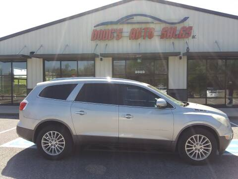 2008 Buick Enclave for sale at DOUG'S AUTO SALES INC in Pleasant View TN
