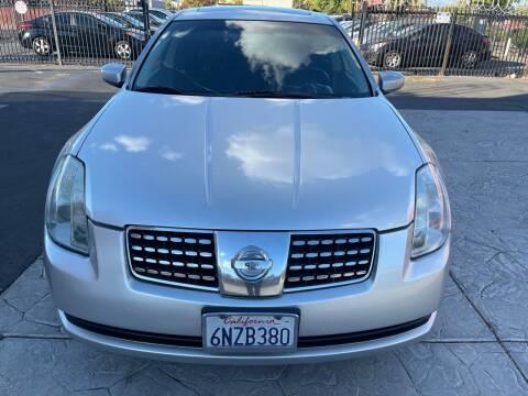 2006 Nissan Maxima for sale at SACRAMENTO AUTO DEALS in Sacramento CA