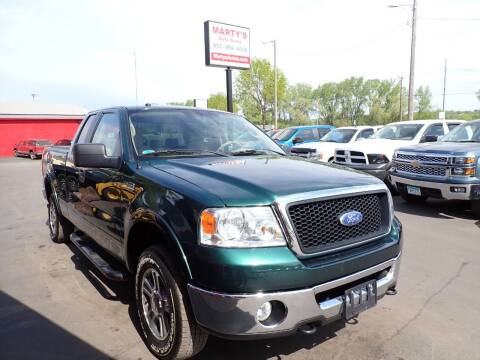 2007 Ford F-150 for sale at Marty's Auto Sales in Savage MN