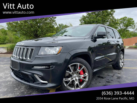 2012 Jeep Grand Cherokee for sale at Vitt Auto in Pacific MO