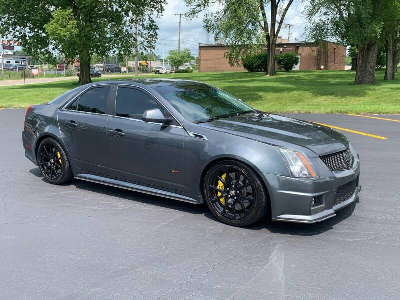 2011 Cadillac CTS-V for sale at Dittmar Auto Dealer LLC in Dayton OH