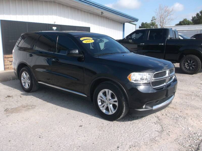 2013 Dodge Durango for sale at AUTO TOPIC in Gainesville TX
