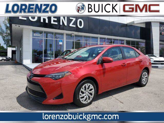 2019 Toyota Corolla for sale at Lorenzo Buick GMC in Miami FL