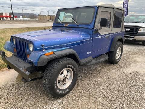 1995 Jeep Wrangler for sale at Wildcat Used Cars in Somerset KY